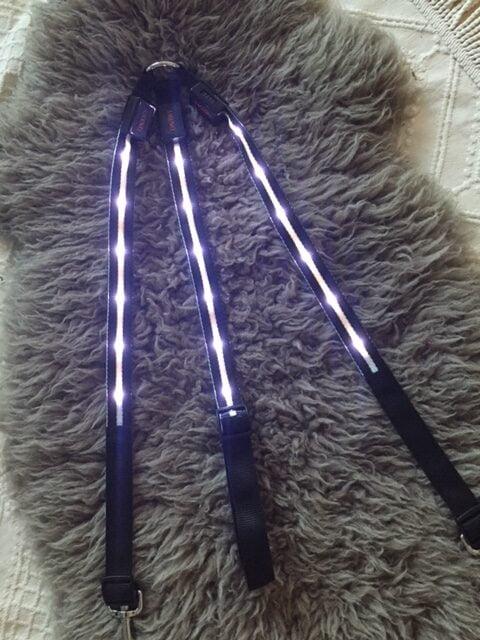 LED lys hvid til hest