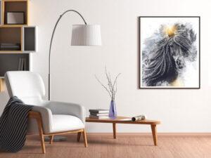 Plakat af islandsk hest