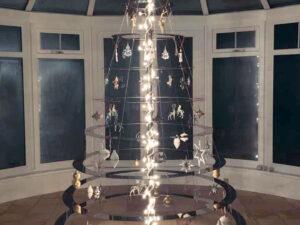Juletræ af stål