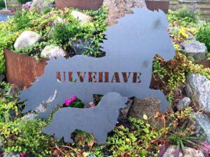 Islænder skilt med navn